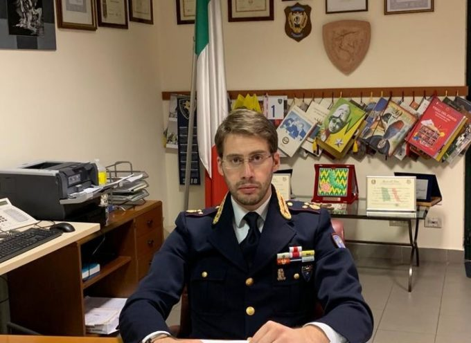 Arrivato a lucca il  nuovo Dirigente della Polizia Stradale, Vice Questore Aggiunto dr Pietro Ciaramella,