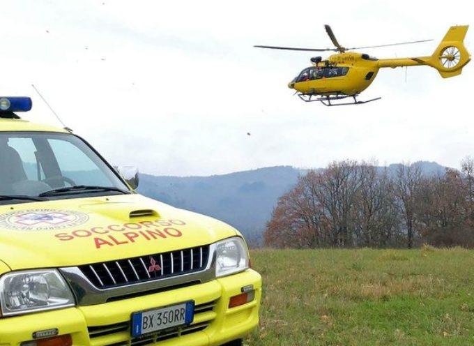 Doppio intervento nella mattinata di stamani per i tecnici del Soccorso Alpino della Stazione Monte Falterona.