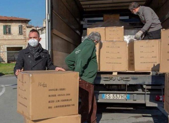 Il Comune di Massarosa ha ricevuto cinquemila mascherine FFP2