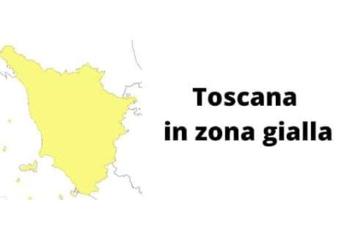 La Toscana resta in zona gialla fino a sabato 30 gennaio!