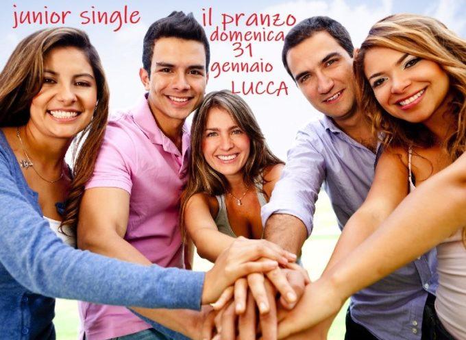 il pranzo dei Giovani Single della Toscana