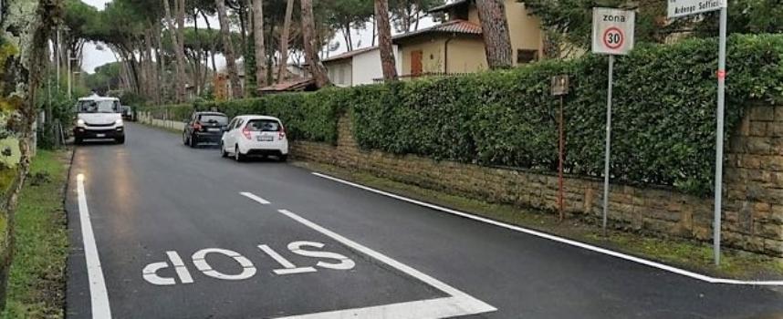 FORTE DEI MARMI – Prosegue il programma dell'Amministrazione Comunale di manutenzione delle strade