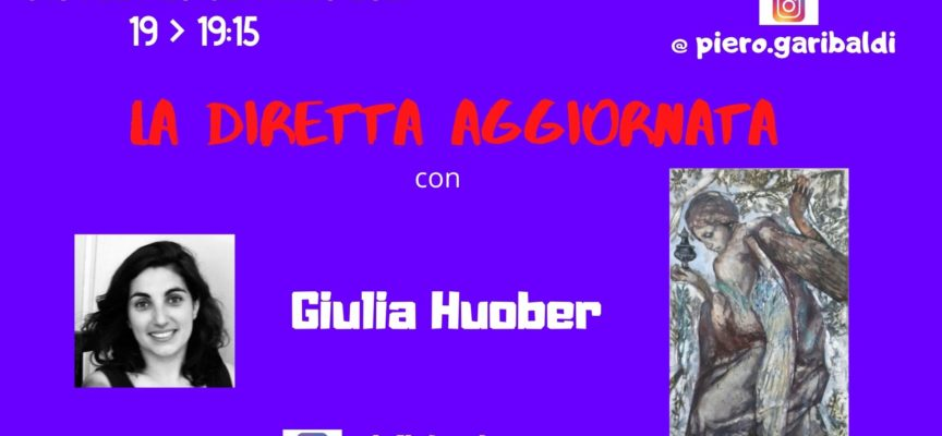 """GIOVEDI' 28 GENNAIO – LA PITTURA DI GIULIA HUOBER NELL'ARTE SACRA A """"LA DIRETTA AGGIORNATA"""""""