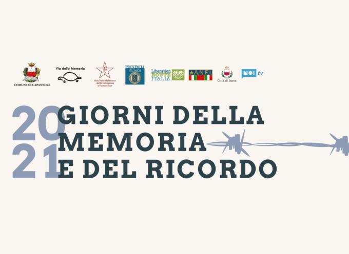 LE INIZIATIVE DEL COMUNE DI CAPANNORI PER LA 'GIORNATA DELLA MEMORIA' E IL 'GIORNO DEL RICORDO'
