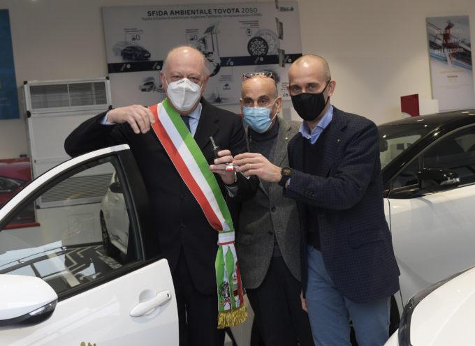 Lucar e Comune di Lucca di nuovo partner per l'ambiente Una Nuova Toyota Hybrid.