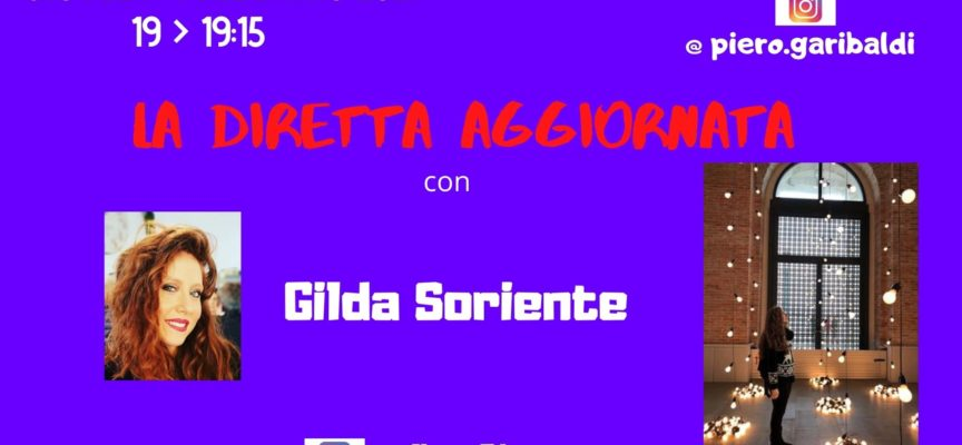 """L'IMPRONTA DI GILDA SORIENTE SULL'ARGOMENTAZIONE DELL'ARTE CONTEMPORANEA A """"LA DIRETTA AGGIORNATA"""""""