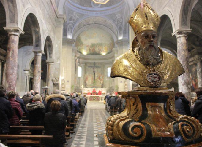 Pietrasanta festeggia San Biagio, liturgie e benedizione della gola