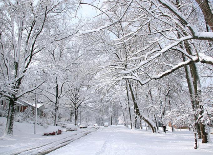 Neve, codice giallo per venerdì 12 febbraio su quasi tutta la regione