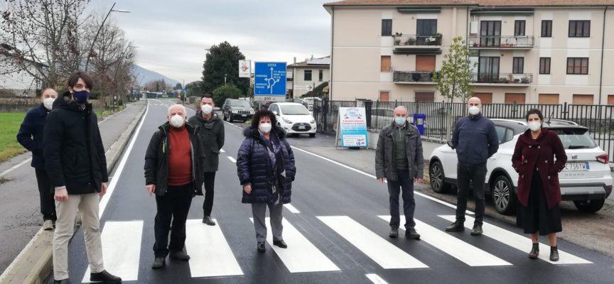 I CAPIGRUPPO DI MAGGIORANZA PLAUDONO ALLA RIQUALIFICAZIONE E ASFALTATURA DELLA VIA ROMANA A CAPANNORI