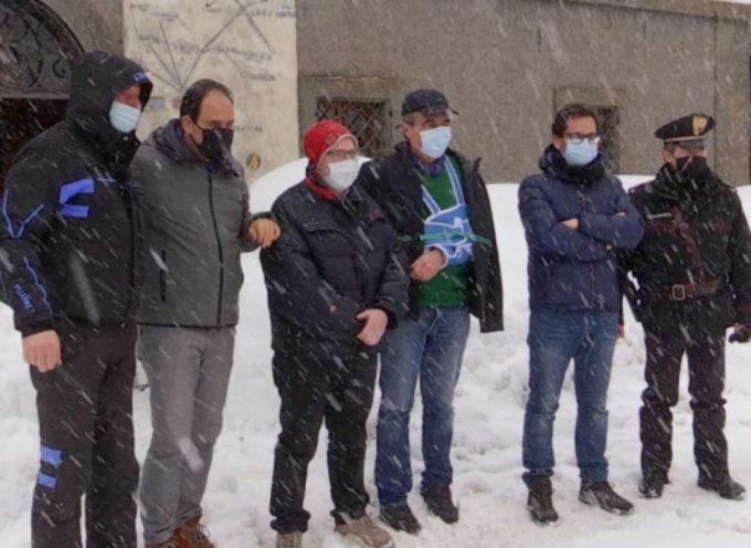Emergenza neve: sopralluogo di Marcucci e Baccelli in Garfagnana