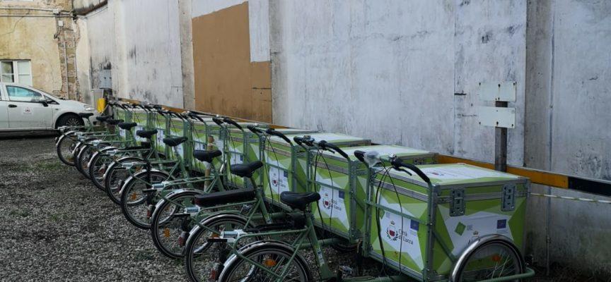 Logistica urbana sostenibile: tutto pronto per attivare le postazioni per il cargobike in centro storico