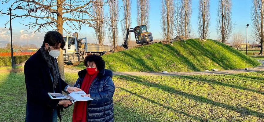 Inizio lavori al parco pubblico di Capannori, Martinelli (FDI):, bastava fare manutenzione e vigilanza