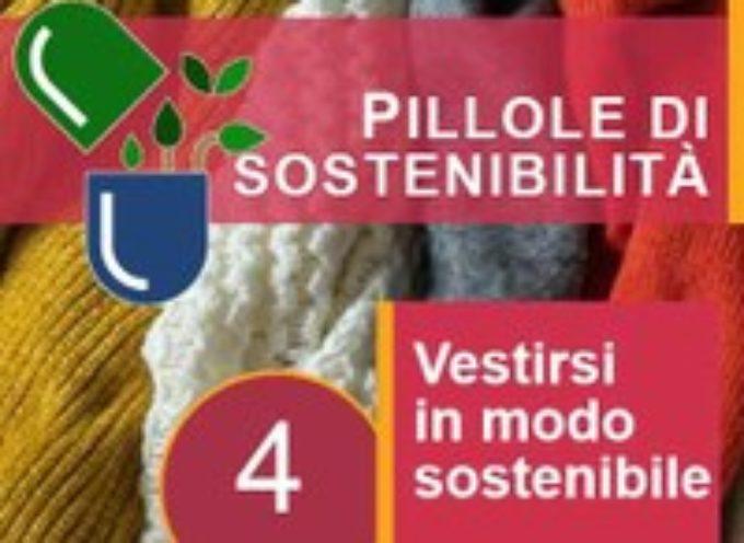 Le pillole di sostenibilità di ARPAT: vestirsi in modo sostenibile