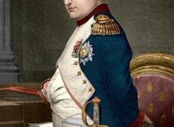 il 26 febbraio 1815. Napoleone Bonaparte fugge dall'isola d'Elba.