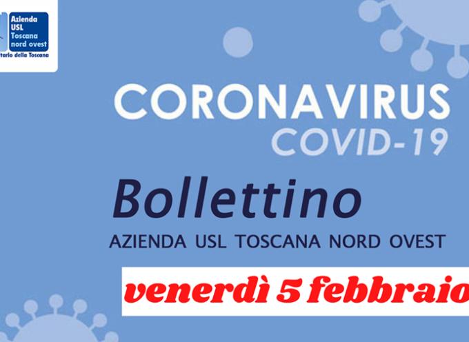 I CASI DI COVID OGGI IN VALLE DEL SERCHIO  SONO 7