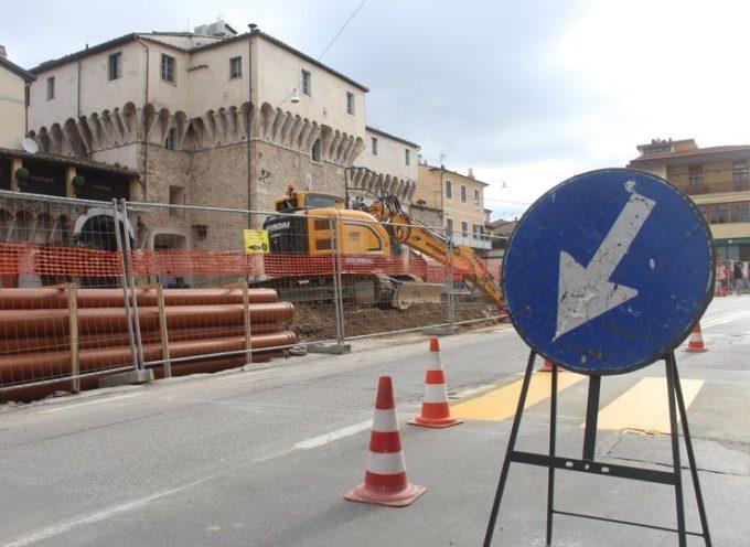 Viabilità: cantiere Piazza Carducci, sospensione APU in Piazza Duomo e modifiche alla viabilità