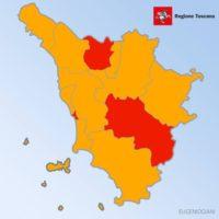 la prossima settimana la Toscana rimarrà in zona arancione.