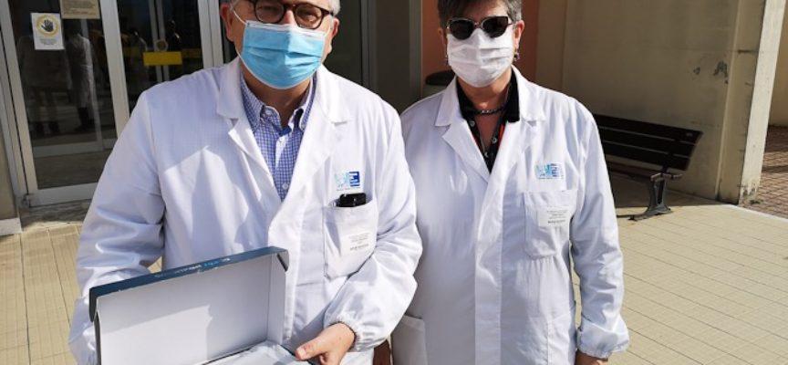 Dal Lions Club Garfagnana un tablet per far comunicare con i propri cari i pazienti della Medicina di Barga