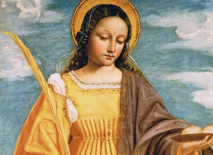 Il Santo del giorno, 5 Febbraio: S. Agata, Patrona di Catania, Palermo, della Repubblica di San Marino e Malta,