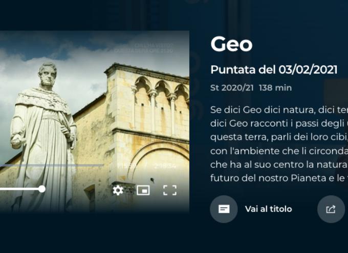 Pietrasanta a Geo (Rai3), alla scoperta del fagiolo schiaccione e dei laboratori di marmo
