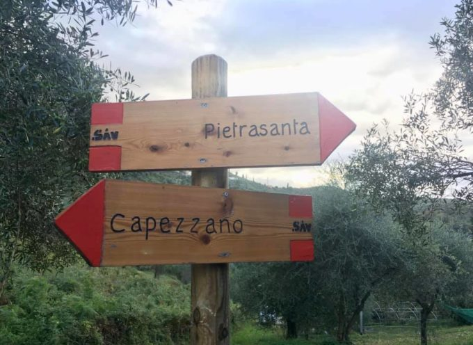PIETRASANTA – rilancia dodici sentieri collinari,