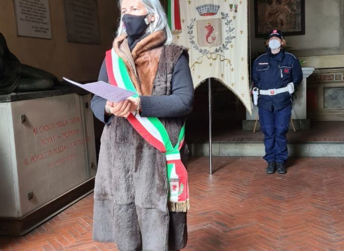 IL COMUNE DI PESCIA CELEBRA LA GIORNATA DEL RICORDO.