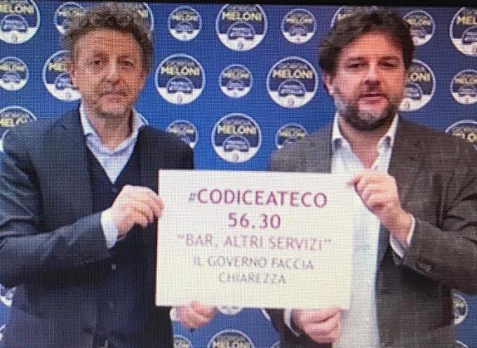 """Marcheschi (Fdi): """"Il governo faccia chiarezza sui Codici Ateco, le categorie economiche sono allo stremo"""""""