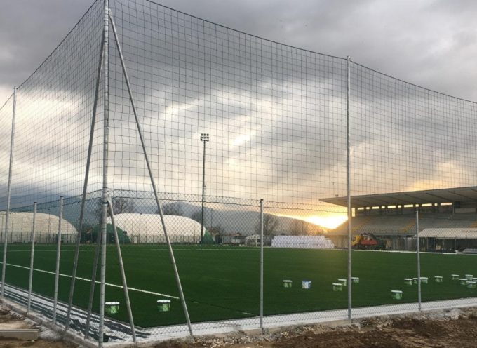 Stadio comunale di Porcari, lavori in dirittura di arrivo