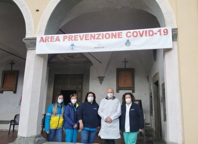 """Anche oggi vaccini anticovid per gli """"over 80"""" al convento del Borgo…"""