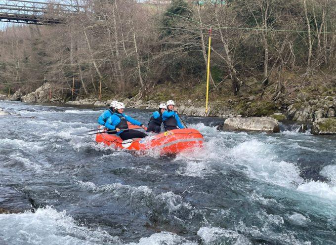 In questi giorni Bagni di Lucca accoglie la Nazionale Italiana di Rafting.
