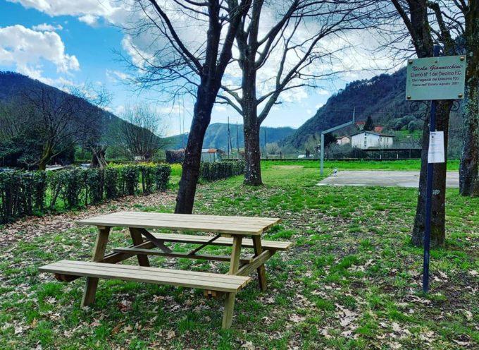 Dopo la totale riqualificazione del parco giochi alla Madonna dei Ferri e di quello a Valdottavo dedicato a Nicola Balbo,