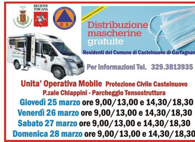 Il Comune di Castelnuovo di Garfagnana , provvederà ad una nuova consegna di Mascherine ,gratuite, ai propri cittadini.