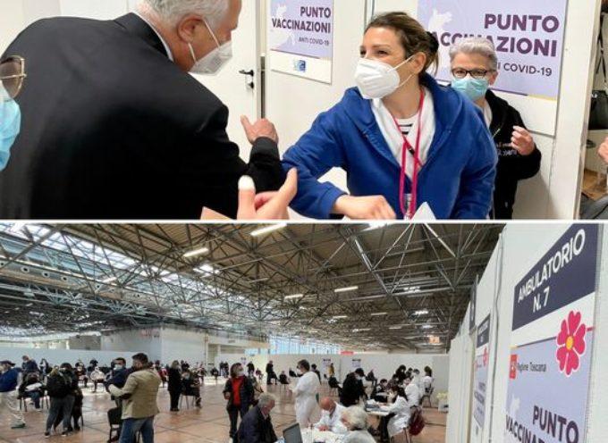 Oggi I nuovi casi di covid  registrati in Toscana sono 1.021