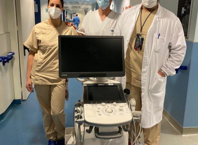 Chirurgia di Lucca: grazie alla Sofidel per il nuovo moderno ecografo