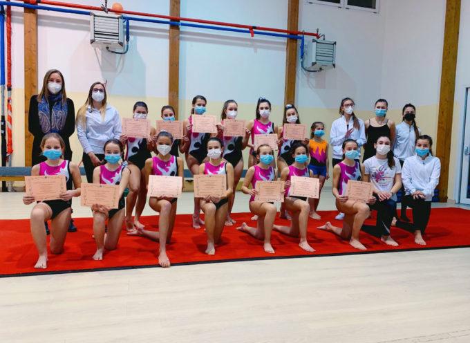 Successo delle atlete della Ginnastica Artistica La Rosa di Seravezza nella prima prova del campionato regionale Uisp