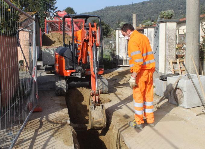 apre cantiere di via Montiscendi a Strettoia, in arrivo nuove fognature e nuovo asfalto