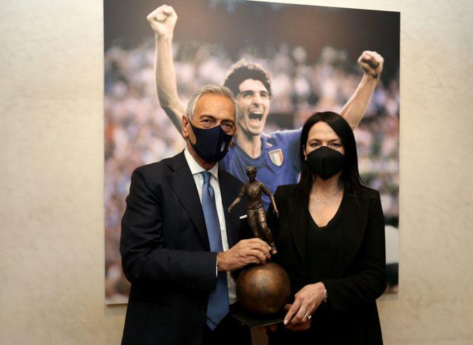 """La Sala del Consiglio Federale intitolata a Paolo Rossi. Gravina: """"Un ricordo doveroso da parte del mondo del calcio"""""""