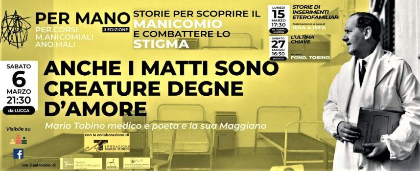 Incontri per conoscere il mondo manicomiale Dedicati anche a Lucca e all'opera di Mario Tobino