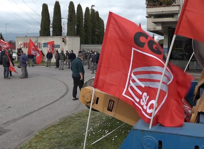 Pro-Gest, lavoratori in sciopero per rivendicare incentivi economici