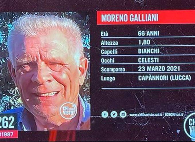 In corso le ricerche dell'imprenditore Moreno Galliani scomparso da martedì