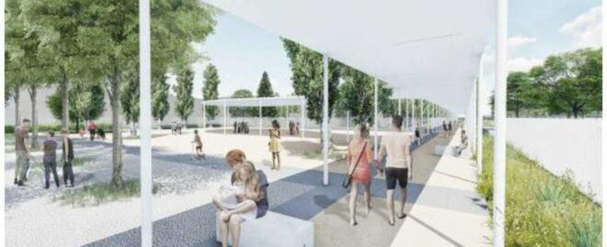 Quartieri Social- A San Concordio completati i lavori alle piste ciclabili, alle aree a verde e ai nuovi spazi pubblici