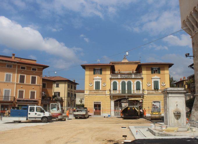 Lavori Pubblici: Piazza Carducci, Piazza Statuto e via Montiscendi, Focette, parchi e frane, i cantieri aperti