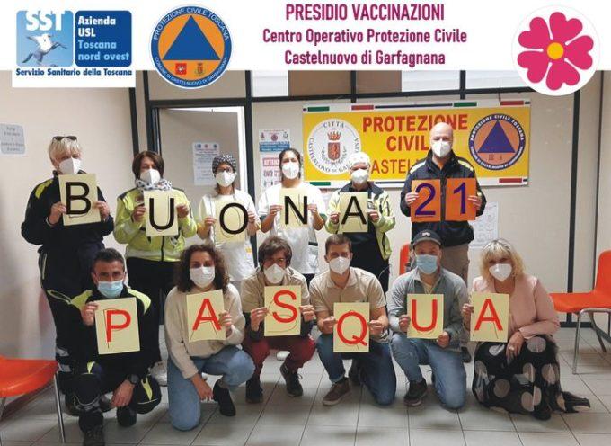 I Medici, Infermieri, personale amministrativo, Funzionari Comunali e Volontari della Protezione Civile – a tutti buona pasqua