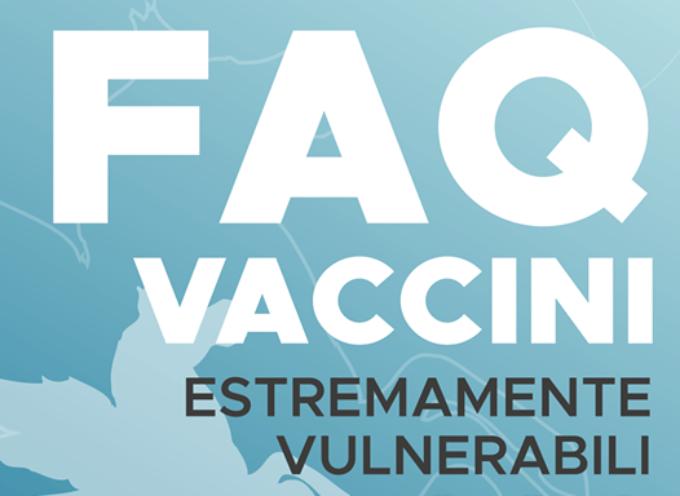 EUGENIO GIANI – Rispondo qui alle domande più frequenti che sto ricevendo in queste ultime ore sui vaccini alle persone estremamente vulnerabili.