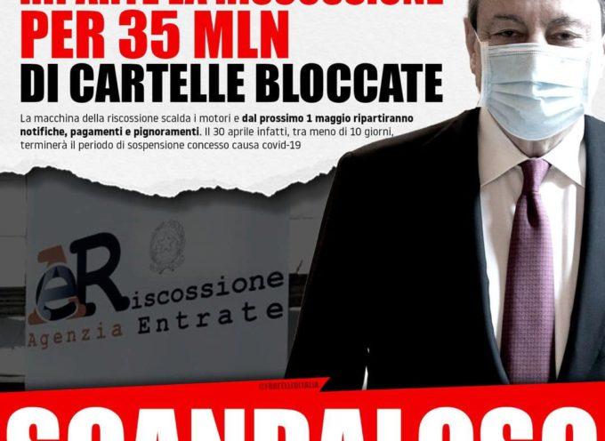 SCANDALOSO – Smascherato il bluff del Governo Draghi sulla pace fiscale: