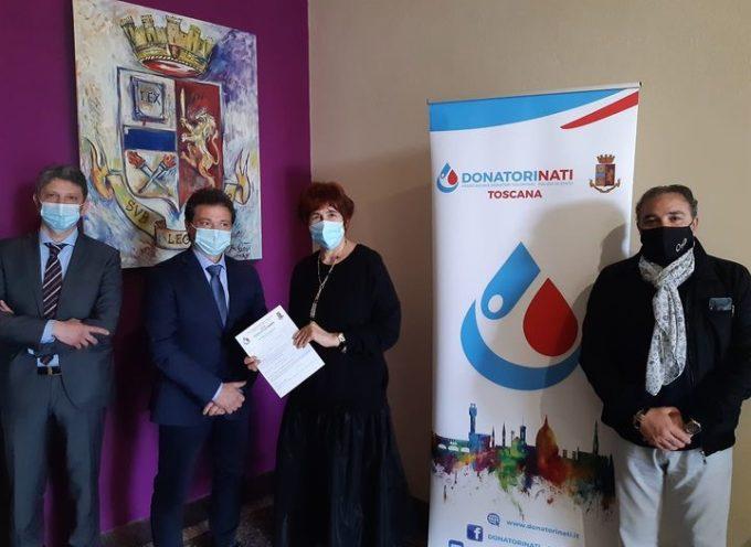 """Il Questore di Lucca Alessandra Faranda Cordella ha incontrato oggi i rappresentanti dell'associazione """"DonatoriNati"""""""