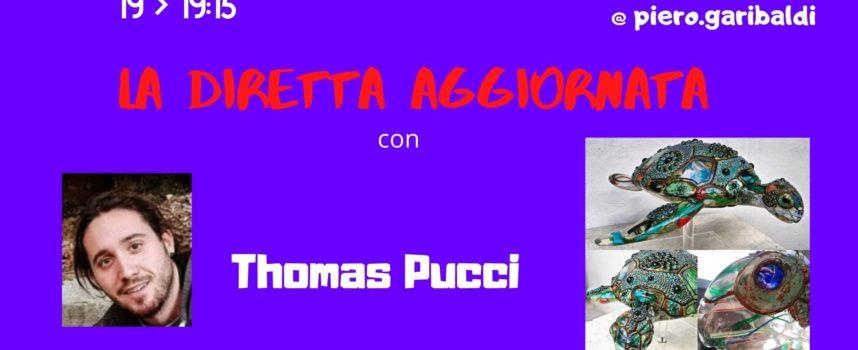 """IL CONSENSO RACCOLTO IN DANIMARCA DALLA VISIONE ARTISTICA DI THOMAS PUCCI A """"LA DIRETTA AGGIORNATA"""""""