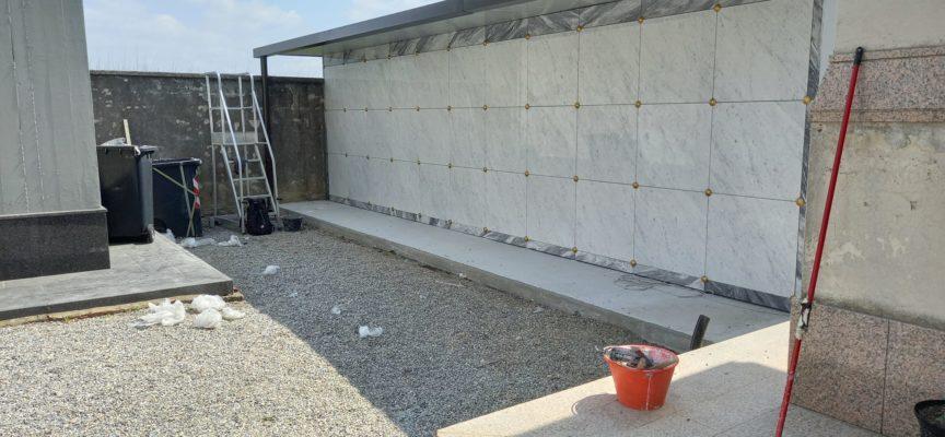 Completati 33 nuovi loculi al cimitero centrale di Pescia