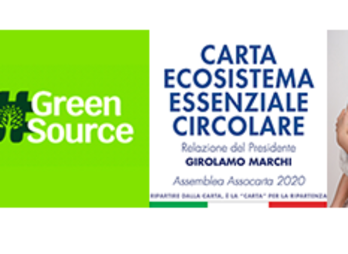 L'industria cartaria italiana protagonista nel PNRR.