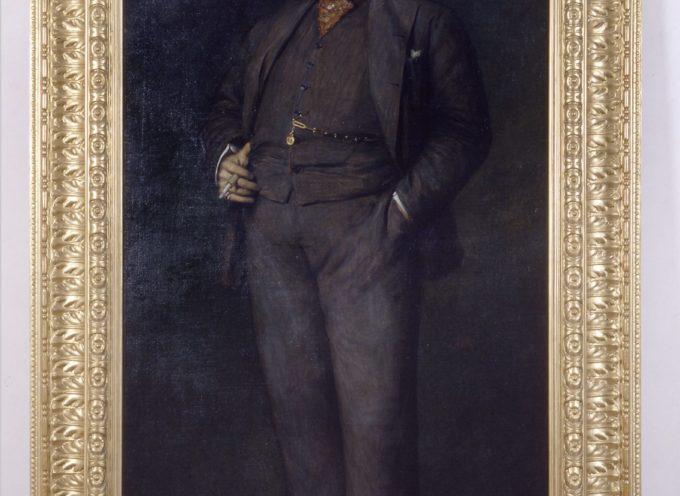Il ritratto di Giacomo Puccini di Edoardo Gelli sarà presto esposto nel Puccini Museum – Casa natale